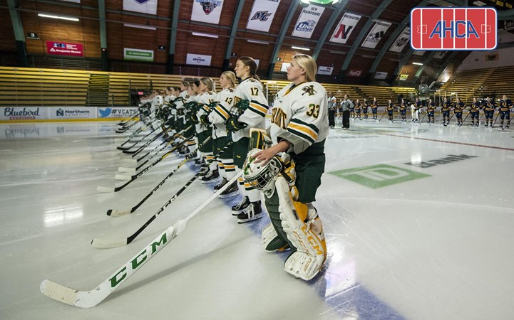 Seven Catamounts Honored as All-American Scholars by the AHCA