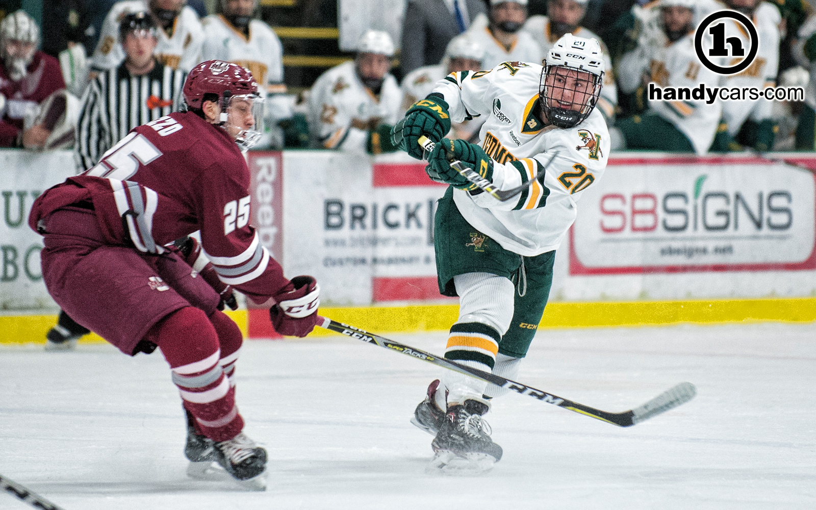 UVM and UMass Square Off for Hockey East First Round in Amherst ... 1bd4620bf