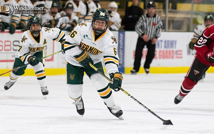 Humphrey Named Rookie of the Week by Hockey East
