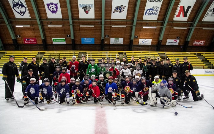 Men's Hockey Partners with BAHA for American Red Cross Relief Fund