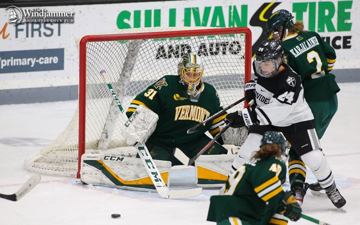 Providence Strikes Late for 3-2 Win Over the Catamounts