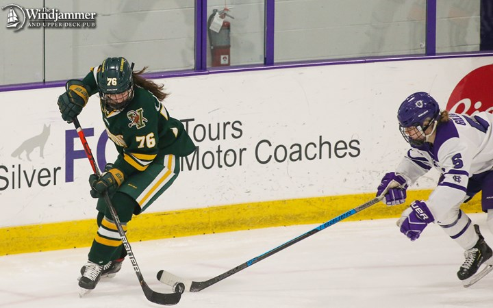 Women's Hockey Suffers 2-0 Loss at Holy Cross - University of Vermont Athletics