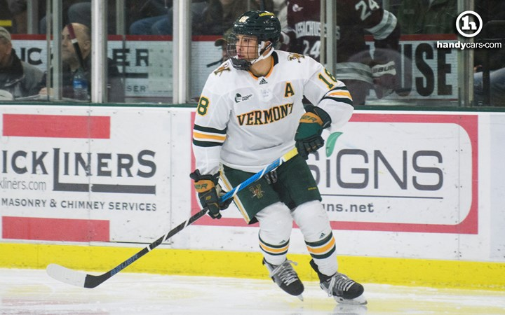 Men's Hockey Heads to Orono for Hockey East Series at 17th-Ranked Maine - University of Vermont Athletics