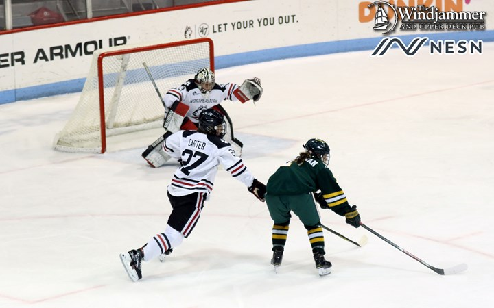 Women's Hockey Travels to Top-Seeded Northeastern for Hockey East Quarterfinals - University of Vermont Athletics