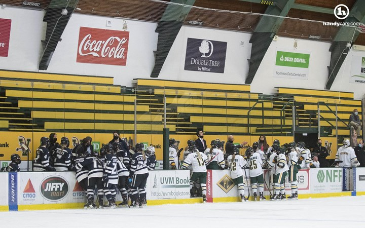 Hockey East Announces Change to Scheduling for Remainder of Season - University of Vermont Athletics